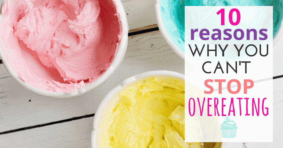 Why you can't stop overeating Facebook graphic