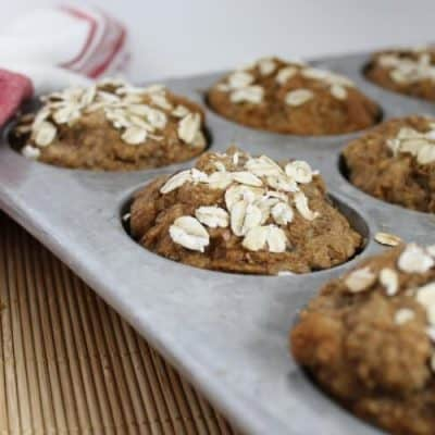 Crowd Pleasing, No Sugar Added, Whole Wheat Banana Bread & Muffins