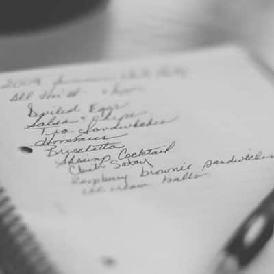 Grocery Staples Checklist & Grocery List