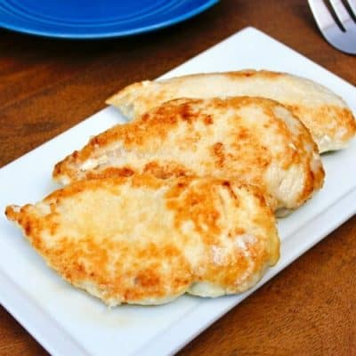 Stupid-Easy, Super-Tasty Parmesan Crusted Chicken Breast