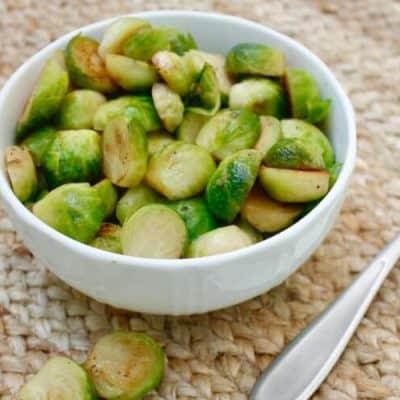 Simple Brussel Sprout Sauté