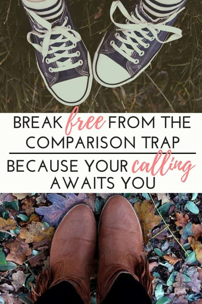 Comparision is the thief of joy! Don't let the discontentment trap rob you of God's calling for your life. Learn Biblical truths to set you free!