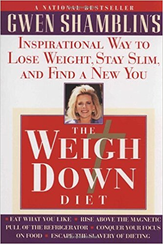 picture of the christian weight loss book the weigh down diet