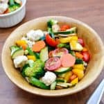 Easy, Make-Ahead, Marinated Vegetable Salad