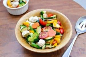 Easy, Make-Ahead, Marinated Vegetable Salad