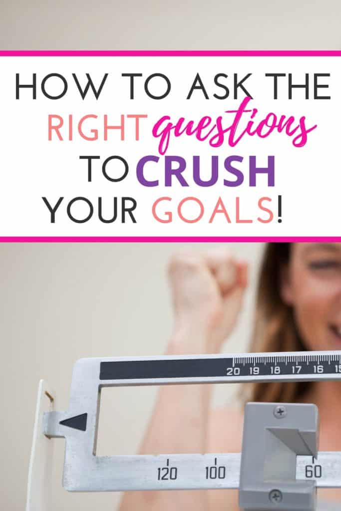 You have health and weight loss goals and yet you find yourself lacking motivation. It is possible that you are simply asking the WRONG questions... This simple switch could change your ideas about how you are going to get where you want to go!