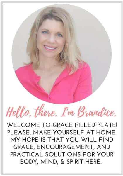 Welcome to Grace Filled Plate!