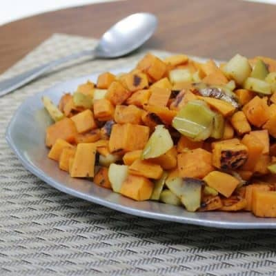 Sweet & Spicy Sweet Potato Hash