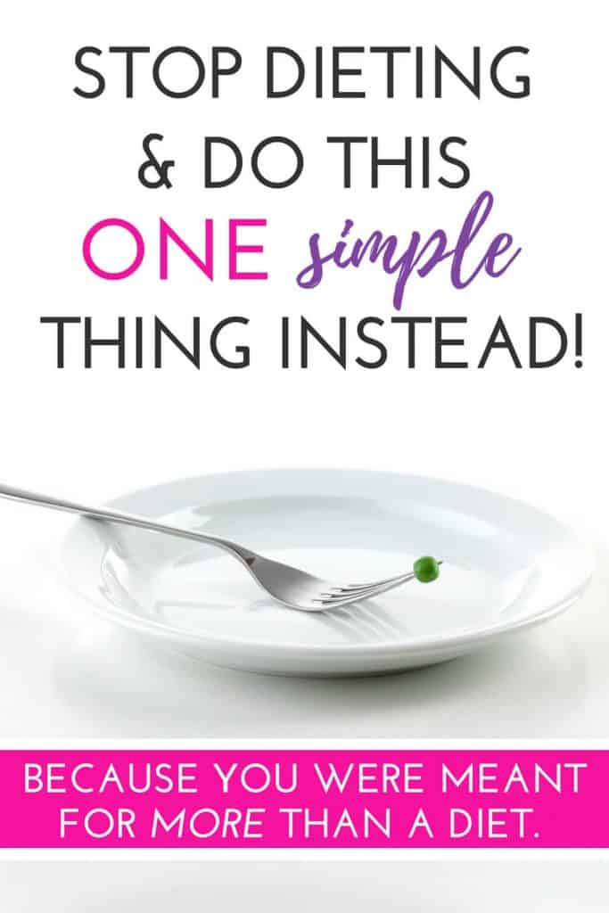 Diets tell you when and what to eat but if you are ready to stop dieting and start living, eating when you are hungry is a simple way to reach your health and weight loss goals! These tips will help you start now!