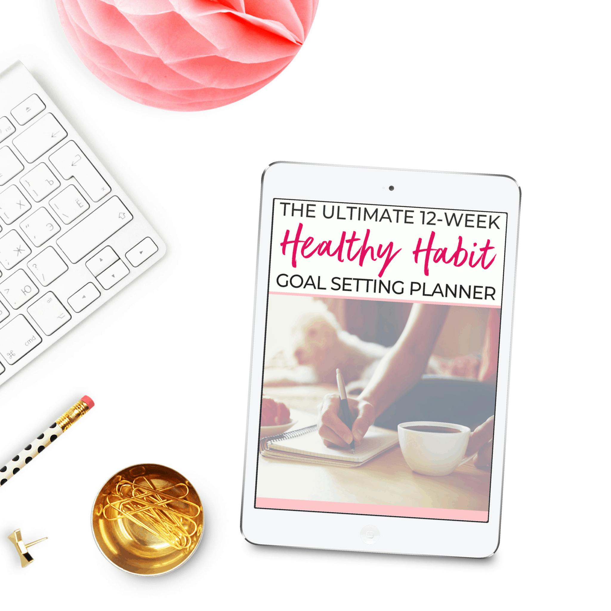 healthy habit planner ipad
